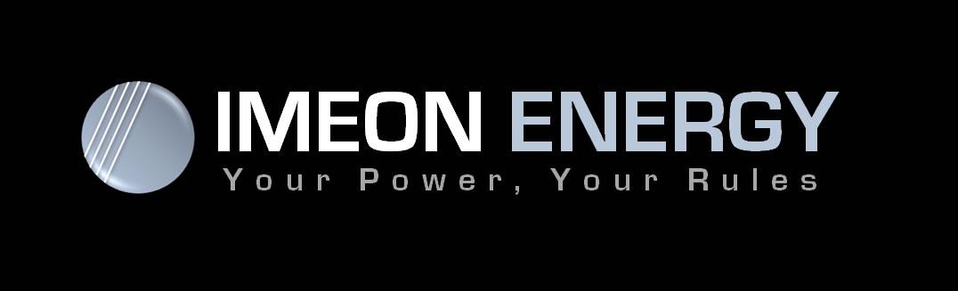 IMEON ENERGY logo noir Self Use solar Smart Inverters onduleur intelligent autoconsommation