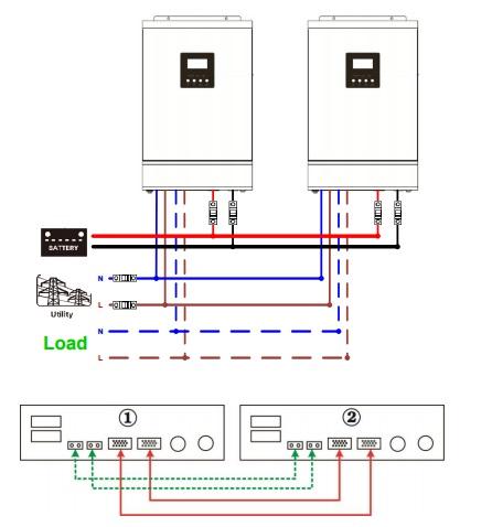 shema paralel na 2