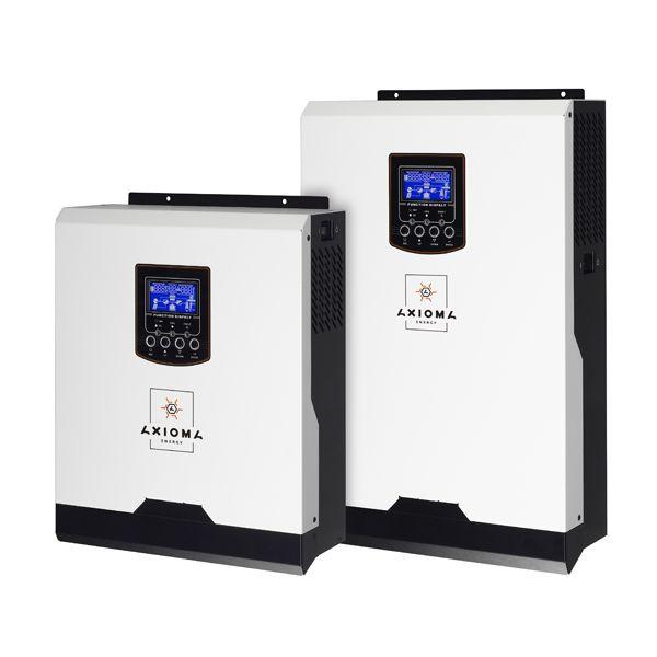 Гібридний ІБП 3000ВА, 24В + ШІМ контролер 50А, ISPWM 3000, AXIOMA energy